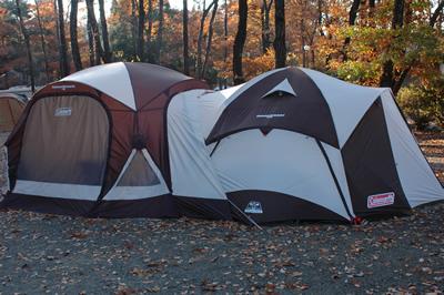 キャンプ:コールマンウェザーマスターテント