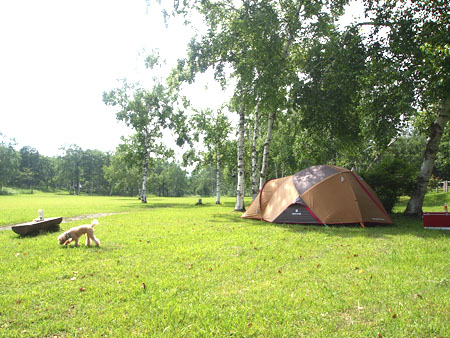 岩洞湖オートキャンプ場5