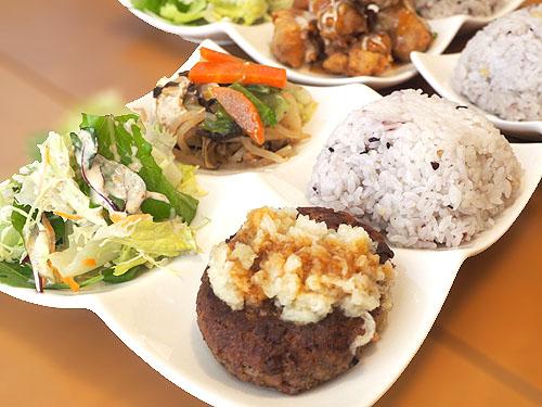 大豆肉ハンバーグ