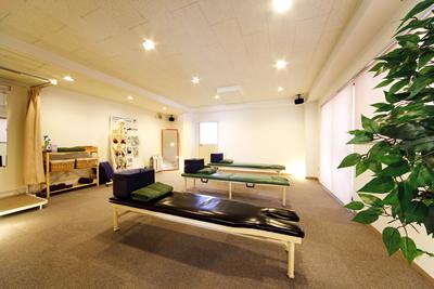 板橋カイロプラクティック整体院・施術スペース