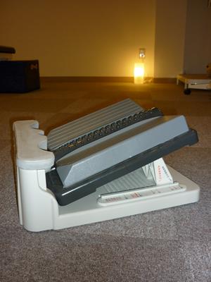 ストレッチボード使用例1